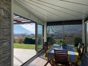 Veranda toiture étoile Haute-Jarrie (38) - Véranda réalisé par Atrio Grenoble