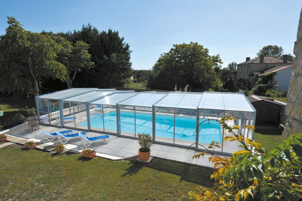 Abri de piscine Triptik Atrio